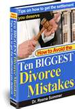 Marriage AND Divorce Mistakes - Something we all need to consider before jumping on the band wagon