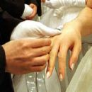 Wedding hands -  A photo of two hands of marriage.