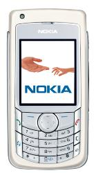 nokia 6681 - front view of nokia 6681