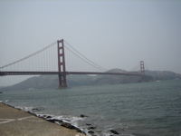 Golden Gate Bridge - Taken from Warming Hut area (Chrissy Field, Presidio) in San Francisco.