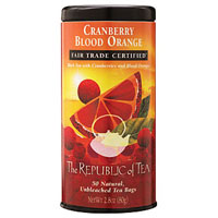 Cranberry Blood Orange - from the Republic of Tea -- my fave!