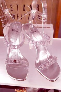 Cinderella Slippers, Cost $2 million - Cinderella Slippers made with diamonds and a 5 carat ruby.