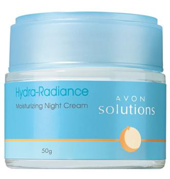Avon Solution Moisturizing Hydra Radiance Night Cr - My favorite night cream