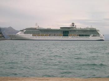 Cruise Ship - Cruising the Mediterranean
