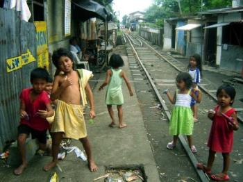 Poor and Needy! - Poor and needy children and yet unmindful of their miserable state.