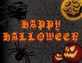 Happy Halloween!!! - I'm the one who made this design for the Halloween Banner in the office.. Is it good?? What do you think about my designed??