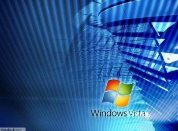 Windows Vista wallpaper - I like this graphic of the Windows Vista wallpaper.