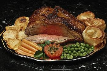 Roast Beef - Roaste Beef...medium, rare or done :)