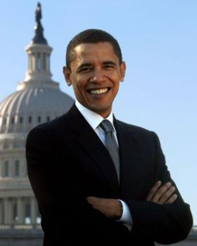Prisident Obama - The newly elected President of America!