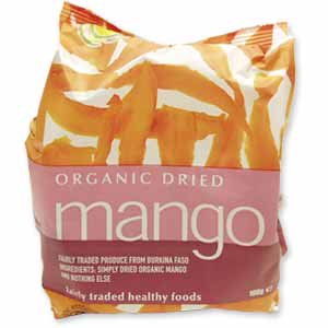 A Bag Of Dried Mango - Dried Mango Is Very Delicious