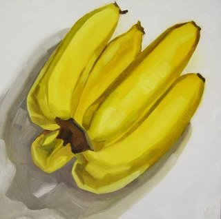 A lovely bunch of bananas - bananas are very lovely when they are fully ripe