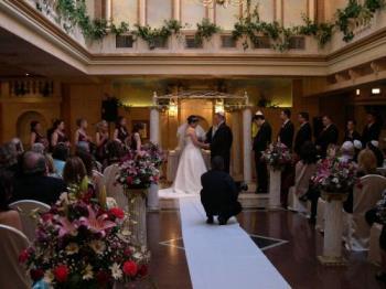 My neice's wedding - The ceremony.