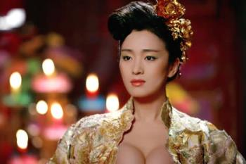 Gong Li, a famous star in China - Recently converted to Singaporean. A new addition to the Singapore population
