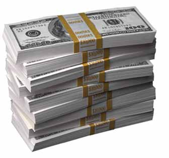A Stack Of Dollar Bills - Pay Day