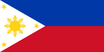 "Philippine flag - The ""normal"" way it is raised"