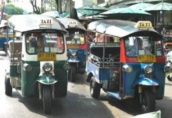 rickshaws - rickshaws in the city