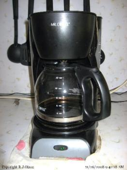 Mr Coffee - My coffee maker at home