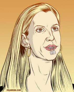 Jaws/Mouth Wired Shut - Ann Coulter