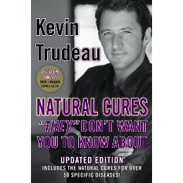 Natural Cures Book - This is the cover of the Natural Cures They Don't Want You To Know About.
