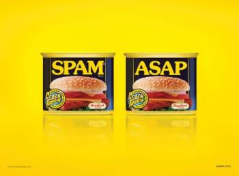 spam!!! - Though I can't remember ever eating the stuff, I deffinetly have a folder for it!