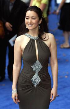 Gong Li - Recently changed her citizenship to Singaporean.