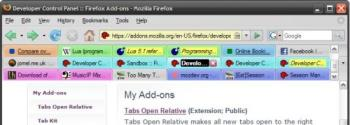 firefox tabs - firefox tabs allows you to open multiple discussions.