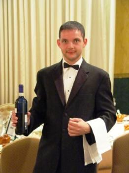 waiter - i worked as a waiter to earn money