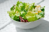 salad - fantastic looking green lettuce salad