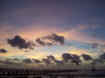 A beautiful Sunrise - One of the beautiful sunrises I captured while on vacation at the coast.