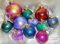 Ornaments Plastic or Glass - Plastic is best if you have little hands that may grab