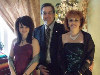 Picture - Here is a picture of the 3 of us dressed up before the Ballet!