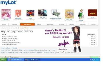 my payment history - my payment history from mylot-diansinta