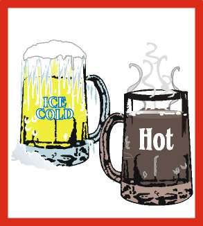 Hot and Cold - comparison between hot and cold