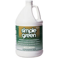 Simple Green - Concentrated Simple Green All-Purpose Cleaner is environmentally freindly and almost dirt-cheap when you dilute it 10:1 with water or distilled vinegar.