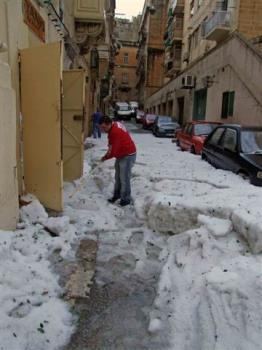hailstorm - hailstorm in malta