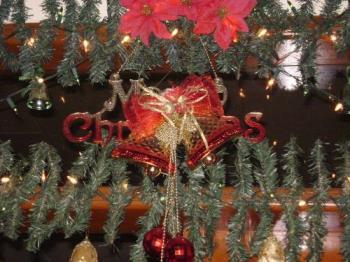 Merry Christmas (decor) - Celebration of Christ's birth.