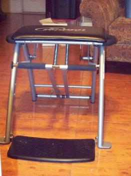 Pilates chair - Here it is.