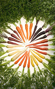 Carrots - This one I have collected from wikipedia.