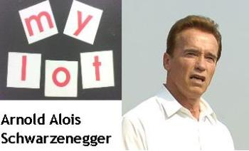 Arnold Alois Schwarzenegger - Mine goes for Arnold Alois Schwarzenegger, fully respect as he was actively involved in his four (4) arena of life activities. He was born in 30 July 1947, in fact he is an Austrian-American actor, Republican politician, bodybuilder, and businessman. So far he has gained good reputation being as 38th Governor of California, USA.