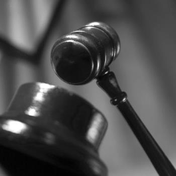 symbol of justice - a gavel