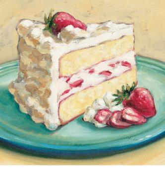 Cake - Strawberry Cake!!