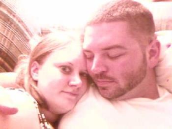 me and my love - I love my man -- and he is so good to me.  :)