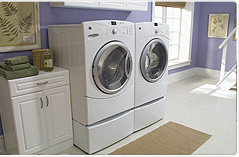 laundry mats - I have no problem going to one if I had too.