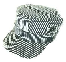 Engineers cap - Cap that is worn by engineers on a train