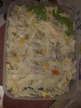 cooking - fetuccini