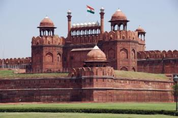 red fort of delhi - this is the photo of red fort of delhi, india i'm sending it to you..hope you like this