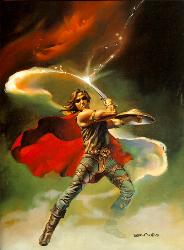 swordsman/ Boris vallejo - Fantasy picture by boris vallejo