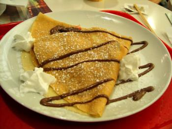 crepes - this is crepes I really love to eat:P