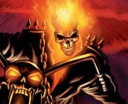 Ghost rider/ Marvel comics - comic character from marvel comics