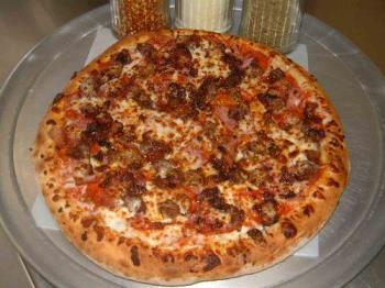 Pizza - All Meat Pizza